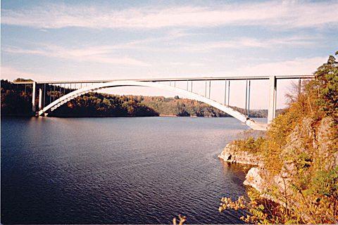 Žďákovský most přes Vltavu
