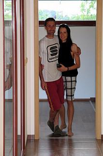 Dřevostavba manželského páru Evy a Jiřího Magálových